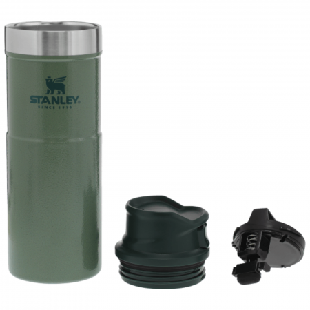 Cană Travel THE TRIGGER- ACTION 0.47L | 16 OZ Hammertone Green1