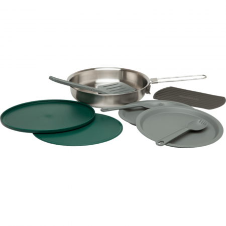 The All-In-One Fry Pan Set | Stainless Steel | GoPack.ro [0]