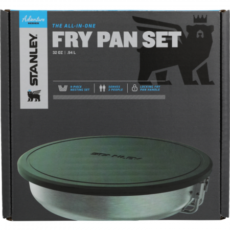 The All-In-One Fry Pan Set | Stainless Steel | GoPack.ro [3]
