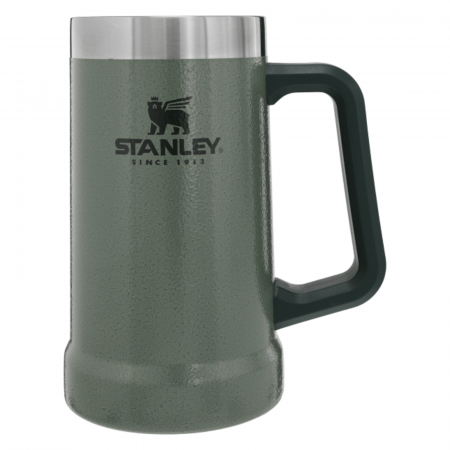 The Big Grip Beer Stein 0.70L | 24 OZ | Hammertone Green1