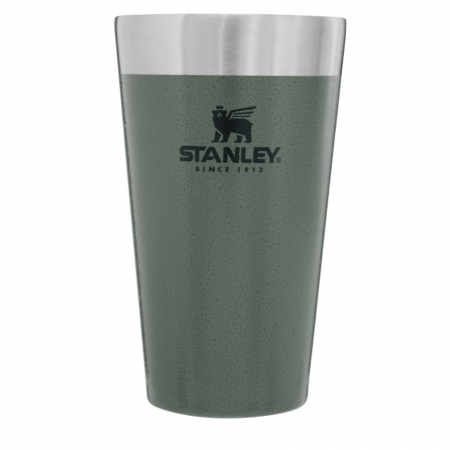 The Stacking Beer Pint 0.47L | 16 OZ | Hammertone Green0