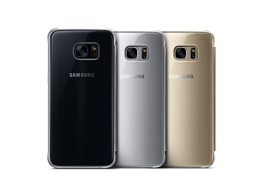 Caracteristici Clear View Cover Samsung Galaxy S7 Edge