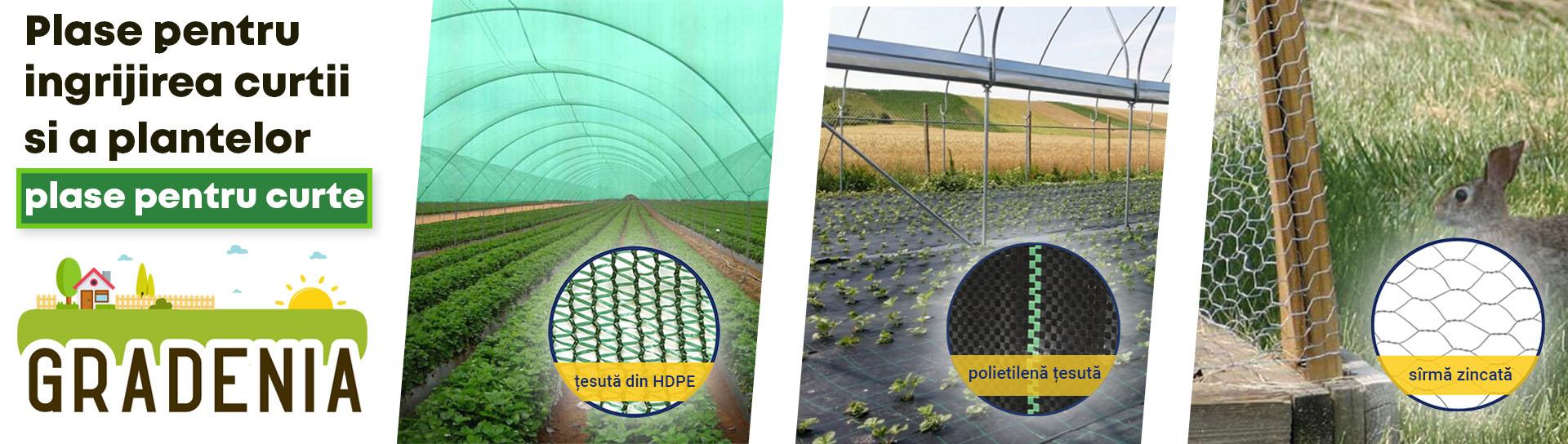 Plase pentru animale si ingrijirea plantelor