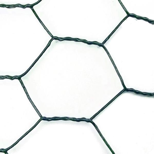 """Plasa Rabitz Zn plastifiata 1 x 25 m - 1""""(25 mm) x 1 mm 1"""
