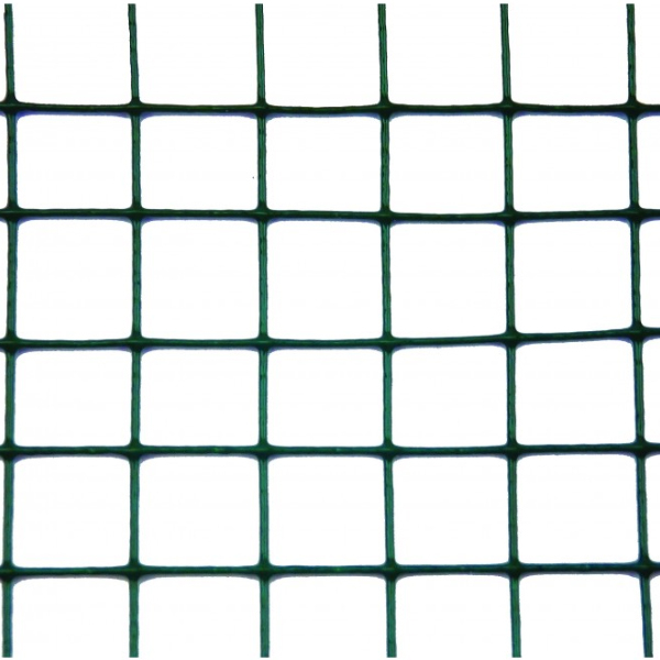 Plasa sarma Zn sudata plastifiata 1x10 m - 13x13x1 mm 1