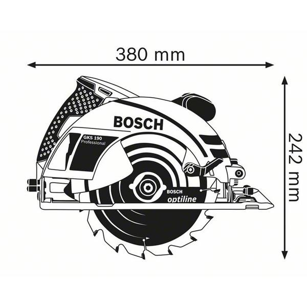 Fierastrau circular GKS 190 Professional 1
