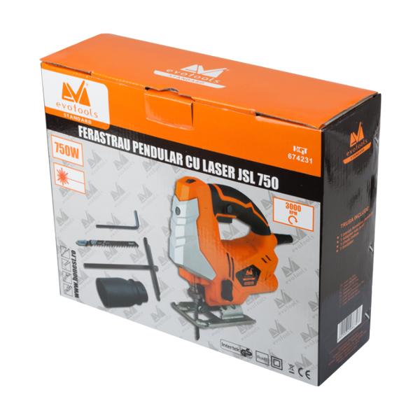Fierastrau Pendular cu Laser JSL 750 EPTO 1
