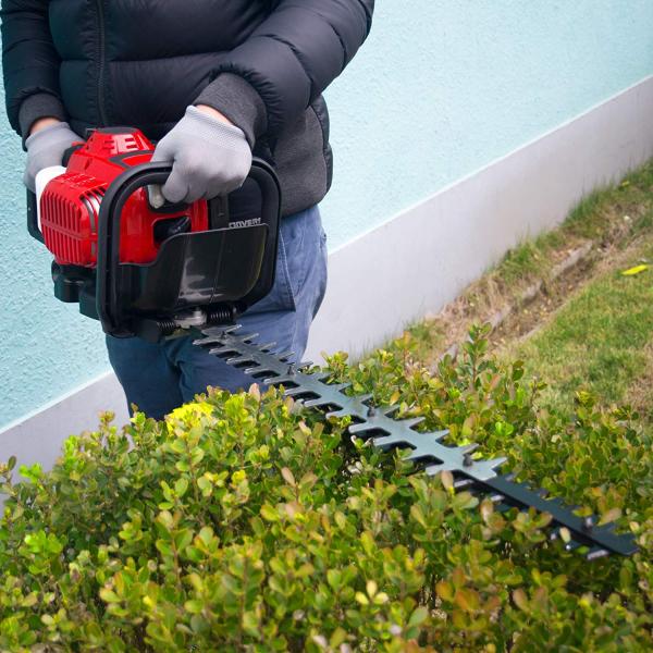 Foarfeca benzina pentru gard viu Matrix 26cc 750 w lama 56cm 2