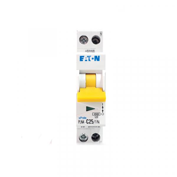 Siguranta automata EATON , 1P+N, 4.5KA, PLN4-C25/1N 1