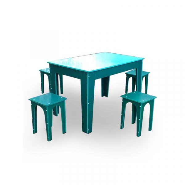 Masă cu scaune pentru gradină 1