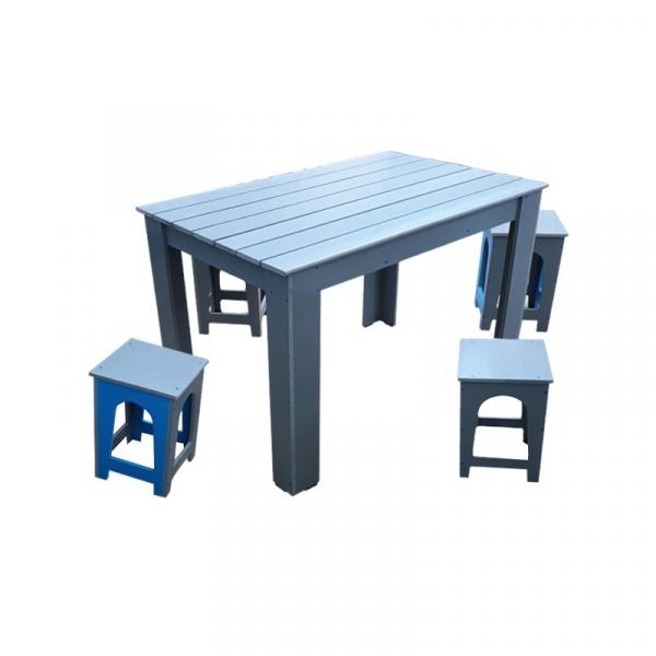 Masă cu scaune pentru gradină PVC 1