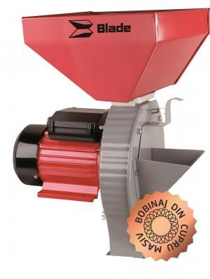 Moara pentru cereale si stiuleti de porumb - model B (cuva mare) 2.7 kW, 200 kg/h 0