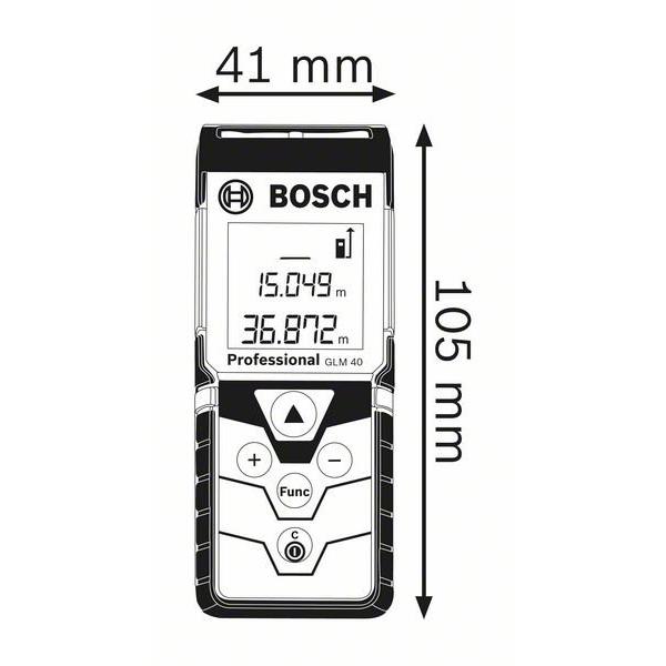 Telemetru cu laser GLM 40 Professional 1