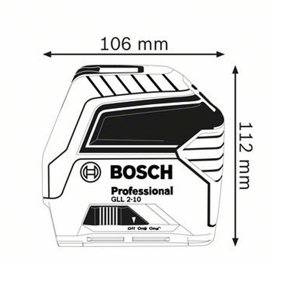 Nivelă laser cu linii GLL 2-10 Professional 1