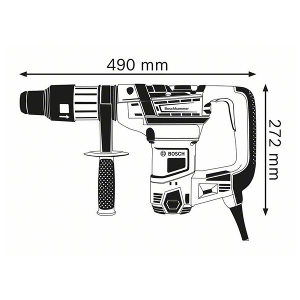 Ciocan rotopercutor cu SDS max GBH 5-40 D Professional 1