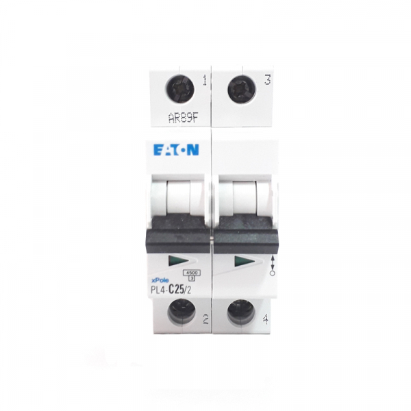 Siguranta automata EATON , 2P, 4.5KA, PL4-C25/2 1