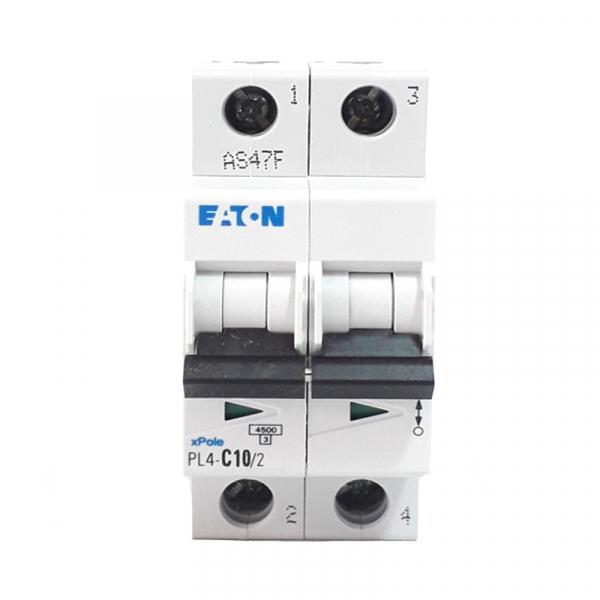 Siguranta automata EATON, 2P, 10A, 4.5KA, PL4-C10/2 1