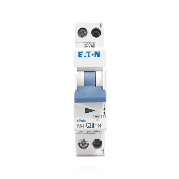 iguranta automata EATON, 1P+N, 20A, 4.5KA, PLN4-C20/1N 1