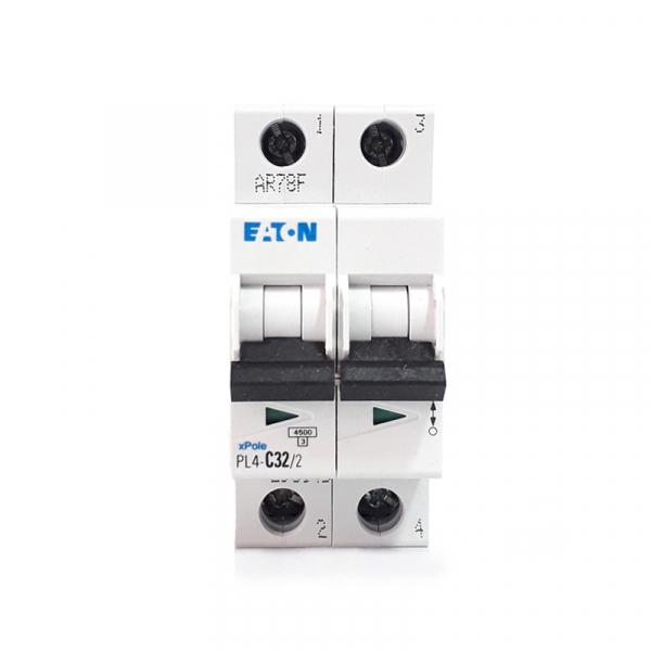 Siguranta automata EATON, 2P, 32A, 4.5KA, PL4-C32/2 1
