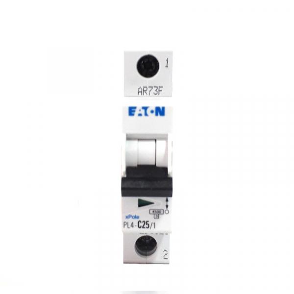 Siguranta automata EATON, 1P, 25A, 4.5KA, PL4-C25/1 1