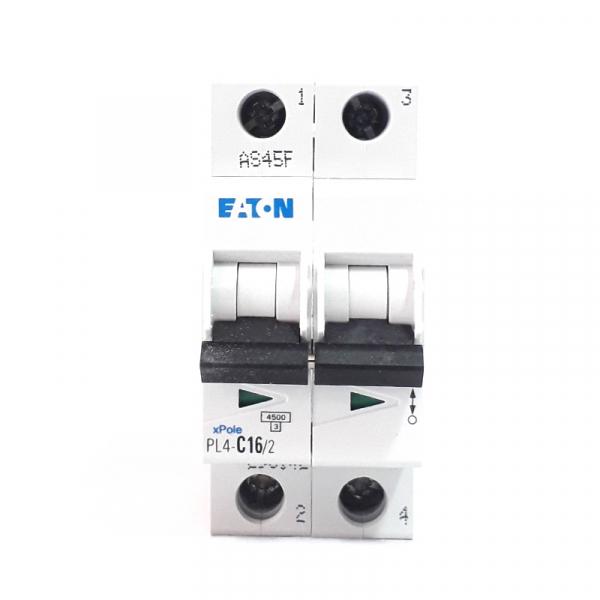 Siguranta automata EATON , 2P, 4.5KA, PL4-C16/2 1