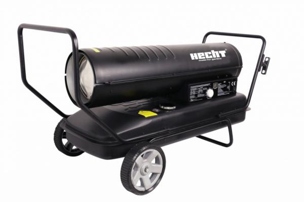 Turbina diesel cu aer cald cu roti si manere Hecht 3039 [0]