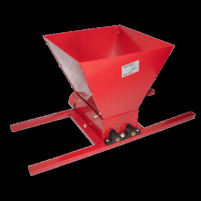 Zdrobitor struguri manual FERMER HGP-50, capacitate 300-500 kg/ora, cuva 25 litri0