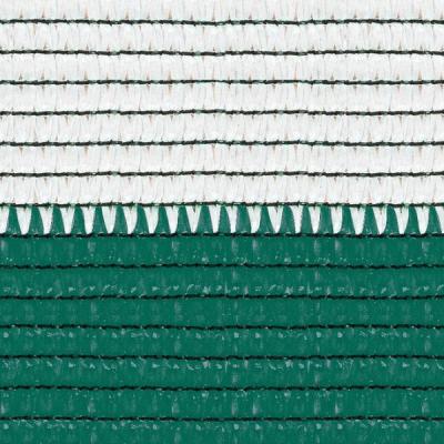 Plasa umbrire 2x10 m - verde + alb - 80 g/mp1