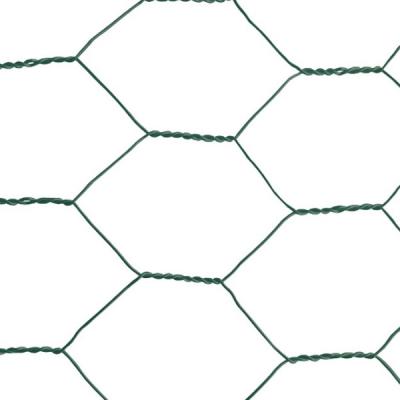 """Plasa rabitz zn plastifiata 1x10 m - 1""""(25 mm)x1 mm1"""