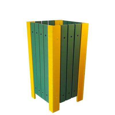 Coș pentru gunoi Helene de exterior cu scrumieră [2]