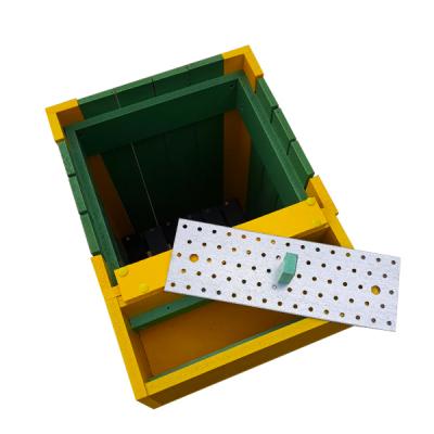 Coș pentru gunoi Helene de exterior cu scrumieră [1]