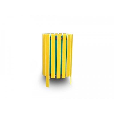 Coș de gunoi din rigle PVC0