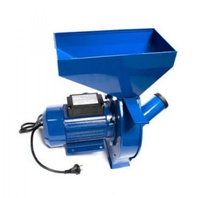 Moara electrica CM-1.1B RUSIA, 3000 RPM, 200 KG/H, 3500 W, BOBINAJ CUPRU, 20 CIOCANELE, 4 SITE1