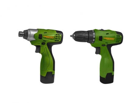 Set Autofiletanta + Pistol cheie impact cu acumulator Procraft Industrial PA168SET, 16.8V, 2Ah, mandrina 2-13mm [0]