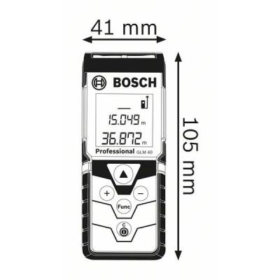 Telemetru cu laser GLM 40 Professional1