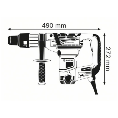 Ciocan rotopercutor cu SDS max GBH 5-40 D Professional1