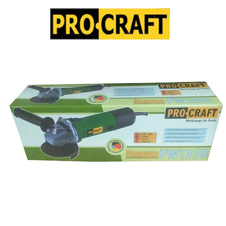 Polizor unghiular Procraft PW1350, 1350W, 11000Rpm [2]