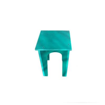Scaun PVC verde0