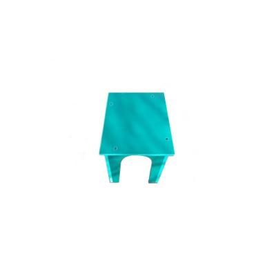 Scaun PVC verde1