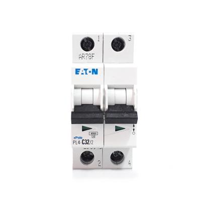 Siguranta automata EATON, 2P, 32A, 4.5KA, PL4-C32/21