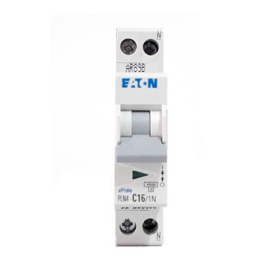 Siguranta automata EATON, 1P+N, 16A, 4.5KA, PLN4-C16/1N1