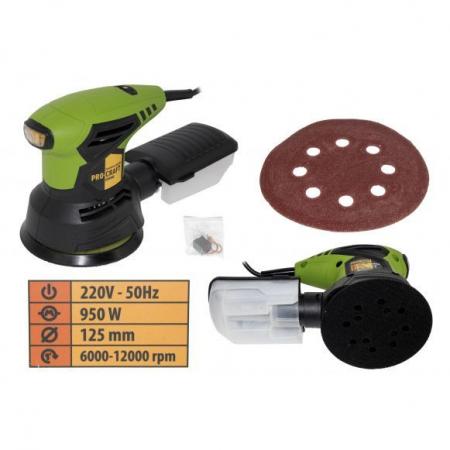 Slefuitor excentric Procraft EX-950E, 950 W, 125 MM, 12000 Rpm [2]