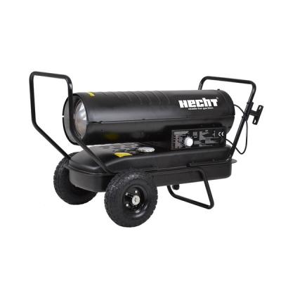 Turbina diesel cu aer cald cu roti si manere Hecht 30380
