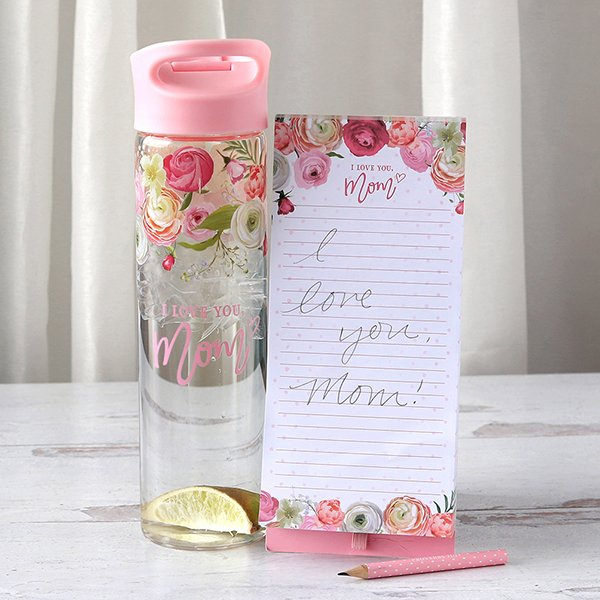 I love you mom - Notepad & Bottle [1]