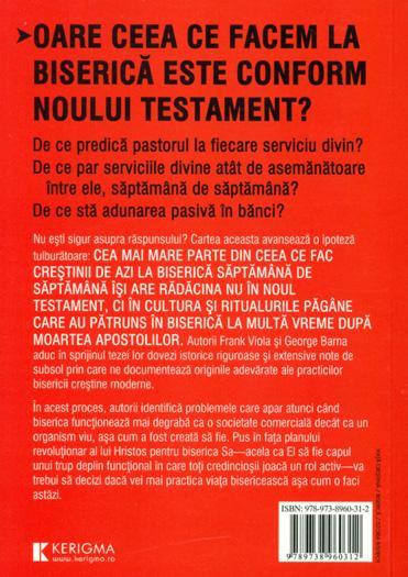 CRESTINISM PAGAN? O explorare a originilor practicilor bisericii 1