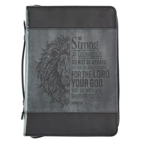 Be strong and courageous - LuxLeather [0]