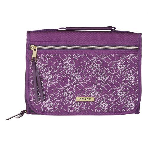 Grace Purple Tri-fold Organizer [0]