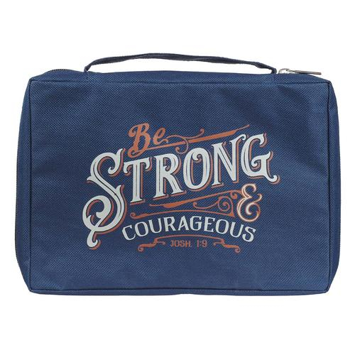 Be Strong & Courageous Navy Joshua 1:9 [0]