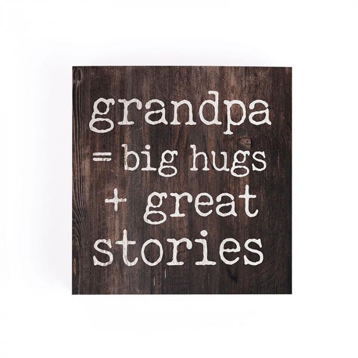 Grandpa = big hugs + great stories [2]