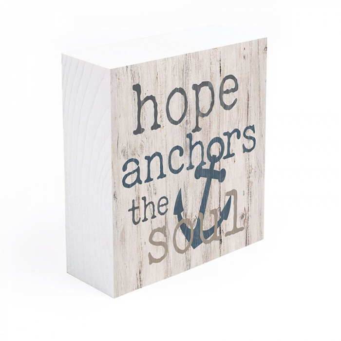Hope anchors the soul [2]